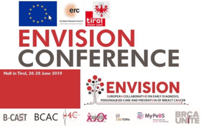 Participation of MyPeBS team in the first edition of ENVISION